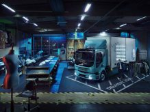 ولوو کامیون الکتریکی می سازد