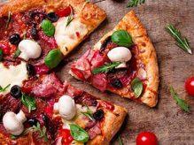 پیتزا قارچ